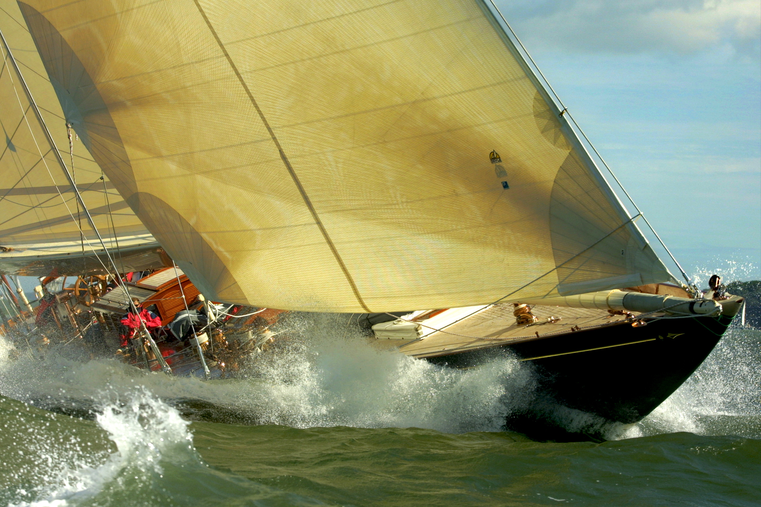 Classic Super Yacht Racing