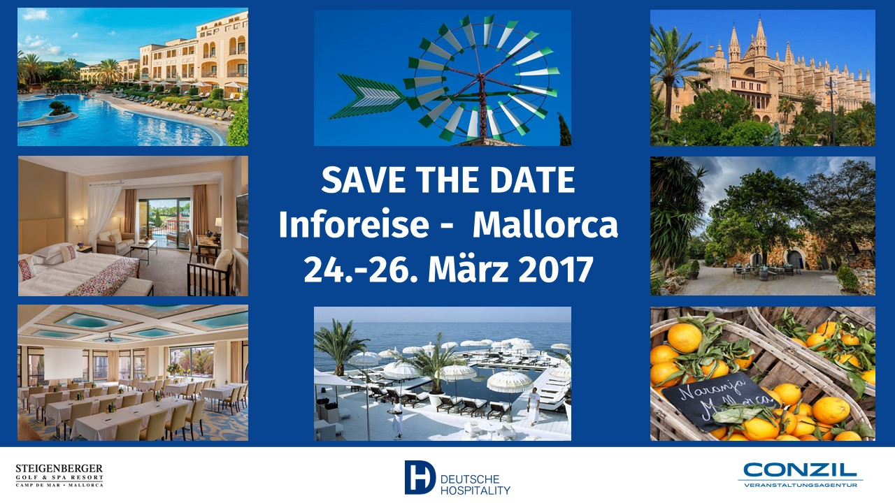 Save the date Inforeise Mallorca_24.-26.03.2017